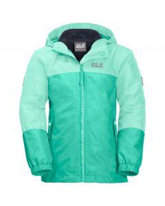 Dziewczęca kurtka 3w1 G ICELAND 3IN1 JKT electric green