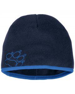 Czapka zimowa dla dzieci BAKSMALLA FLEECE HAT KIDS midnight blue