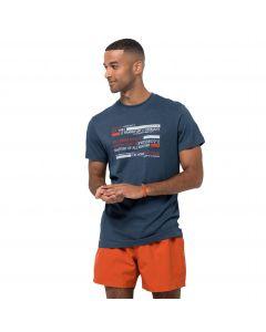 T-shirt męski ESTABLISHED IN T M dark sky