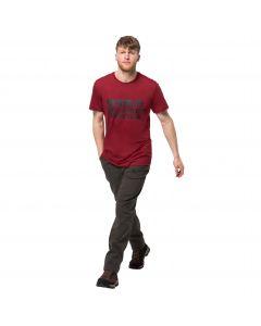 Męski T-shirt BRAND T M dark lacquer red