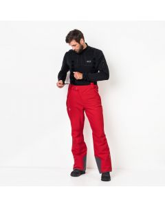 Spodnie EXOLIGHT PANTS MEN ruby red