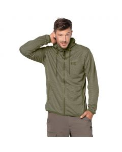 Kurtka polarowa TONGARI HOODED JACKET MEN burnt olive