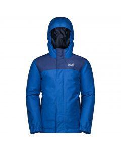 Chłopięca kurtka zimowa B KAJAK FALLS JKT coastal blue