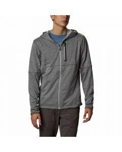 Bluza z kapturem Columbia TECH TRAIL FZ Hoodie Grey