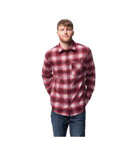 Koszula męska LIGHT VALLEY SHIRT dark lacquer red checks