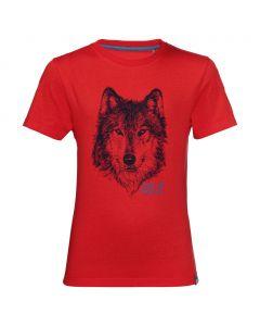 Koszulka chłopięca BRAND T BOYS peak red