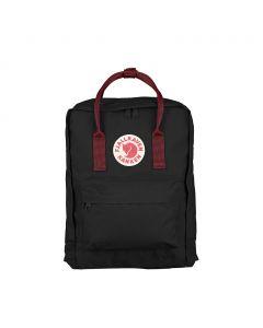 Plecak Fjallraven Kanken black/ox red 550-326