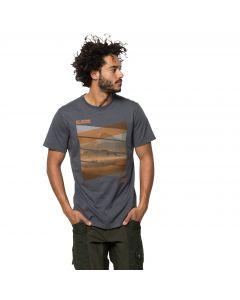 T-shirt męski MOTOSU LAKE T M ebony