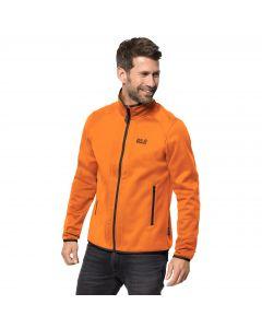 Męska kurtka polarowa HYDRO JACKET M rusty orange