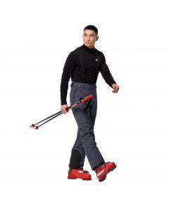 Spodnie narciarskie męskie GREAT SNOW PANTS M ebony