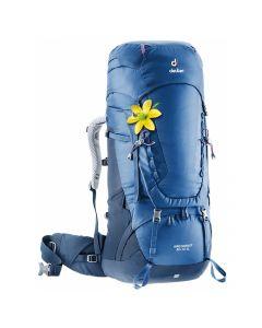 Plecak turystyczny Deuter AIRCONTACT 50+10 SL steel/midnight