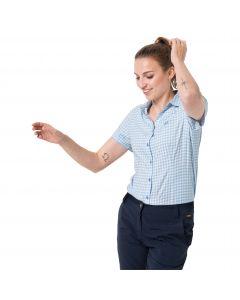 Koszula damska KEPLER SHIRT WOMEN ice blue checks