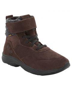 Buty sportowe dla dzieci CITY BUG TEXAPORE MID K dark brown / black