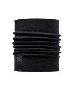 Chusta Buff Merino Heavyweight Neckwarmer solid black