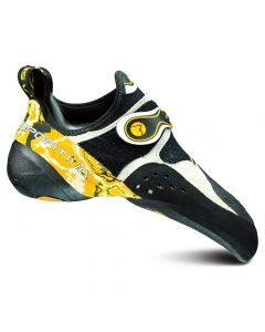 Buty wspinaczkowe SOLUTION white/yellow
