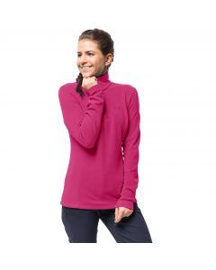 Bluza polarowa damska ARCO WOMEN pink fuchsia stripes