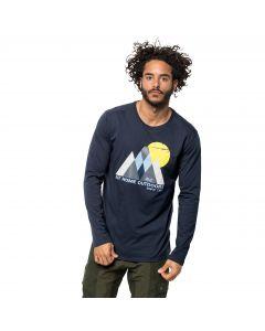 Koszulka męska MOUNTAIN LONGSLEEVE M night blue