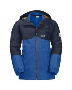 Chłopięca kurtka 3w1 B ICELAND 3IN1 JKT coastal blue
