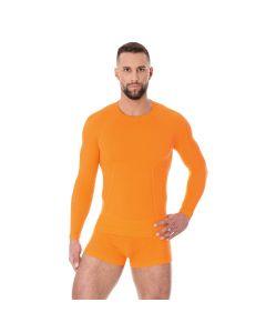 Bluza termoaktywna Brubeck Active Wool LS12820 orange