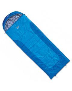 Śpiwór syntetyczny BLIZZARD blue