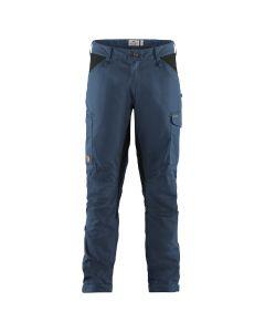 Spodnie męskie Fjallraven Kaipak Uncle Blue Dark Grey