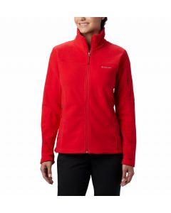 Bluza polarowa damska Columbia Fast Trek II lily red