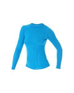 Koszulka termiczna Brubeck niebieska
