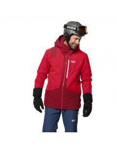 Męska kurtka narciarska BIG WHITE JACKET M dark lacquer red