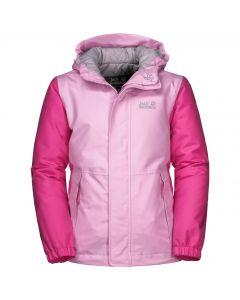 Dziewczęca kurtka zimowa KAJAK FALLS JACKET GIRLS lilac