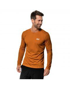 Koszulka męska SKY RANGE LONGSLEEVE M rusty orange