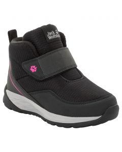 Buty zimowe dla dzieci POLAR WOLF LOW VC K black / grey