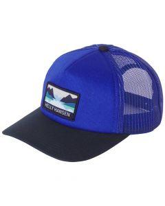 Czapka Helly Hansen Trucker Cap royal blue