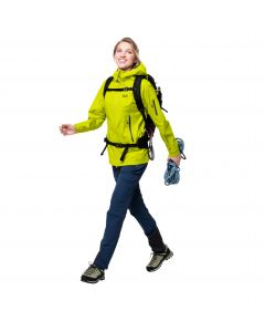 Kurtka trekkingowa damska EXOLIGHT PRO JACKET W flashing green