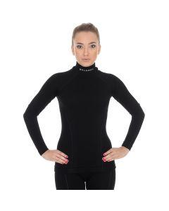 Bluza funkcyjna damska Brubeck Extreme Wool LS11930 black