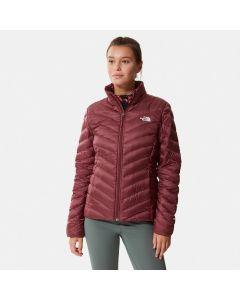 Damska kurtka puchowa The North Face Trevail Jacket regal red