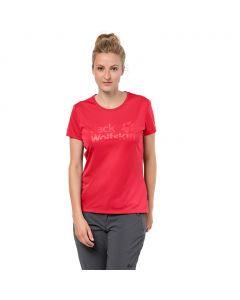 Koszulka ROCK CHILL LOGO T WOMEN tulip red
