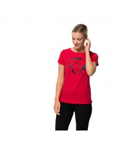 Damski T-shirt HANA T W ruby red