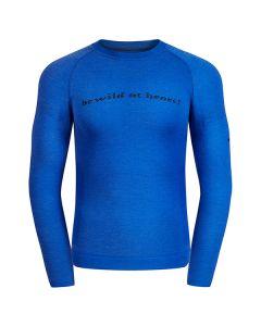 Koszulka MERINO LONGSLEEVE MEN blue