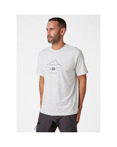 Koszulka męska Helly Hansen Skog Graphic T-shirt white