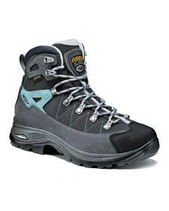Damskie buty w góry Asolo FINDER GV ML grey/gunmetal/pool side