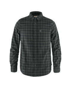 Męska koszula Fjallraven Ovik Flannel Shirt dark grey