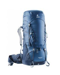 Plecak turystyczny Deuter AIRCONTACT 55+10 midnight blue/navy