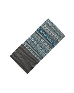Chusta wielofunkcyjna 4Fun MULTIFUNCTIONAL SCARF 8 in 1 POLARTEC deer blue