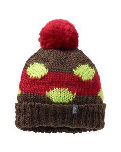 Czapka FLUFFY CHECK CAP mocca