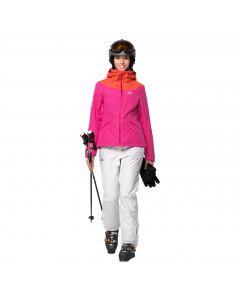 Damska kurtka narciarska POWDER MOUNTAIN JACKET W pink fuchsia