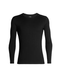 Koszulka termoaktywna męska Icebreaker 260 tech black
