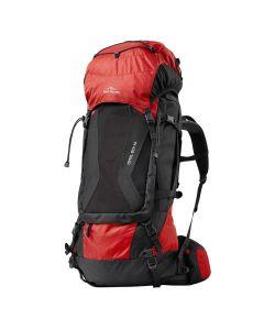 Plecak trekkingowy Fjord Nansen HIMIL 60+10 SOLID red/black