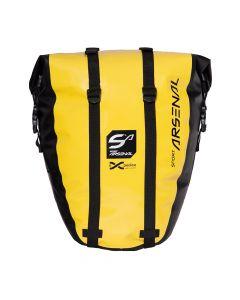 Wodoszczelna sakwa rowerowa boczna na bagażnik SPORT ARSENAL 312 EXPEDICE 20 L yellow