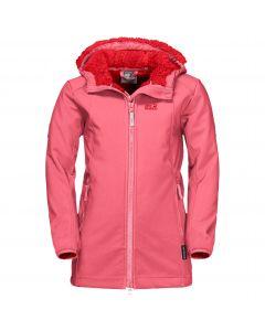 Płaszcz dla dziewczynki KISSEKAT COAT GIRLS coral pink