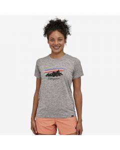 Damska koszulka Patagonia Capilene® Cool Daily feather grey